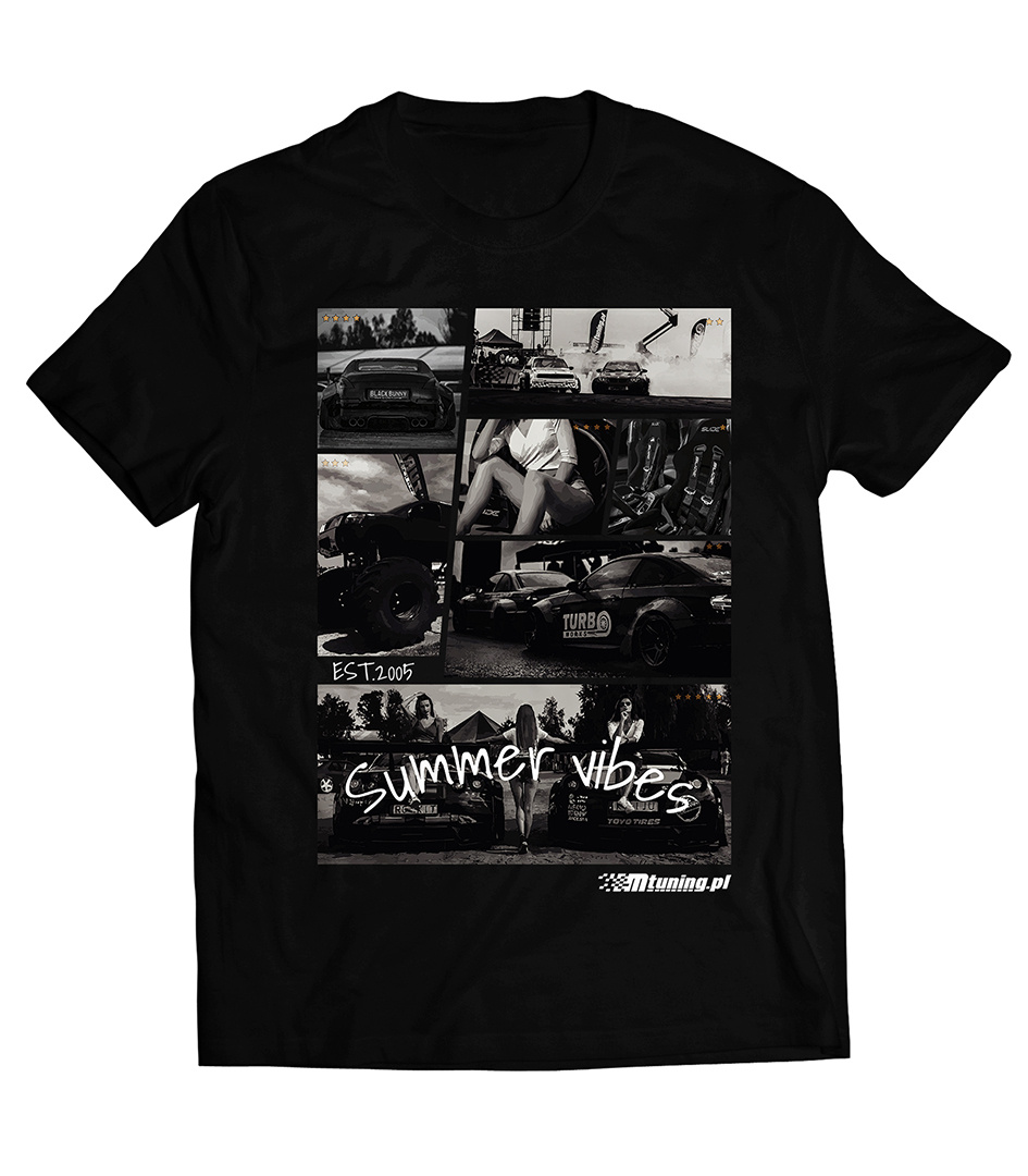 Koszulka T-Shirt MTuning Czarna XL - GRUBYGARAGE - Sklep Tuningowy